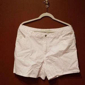White Jean shorts (T01)